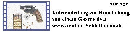 Präsentationsvideos zur Handhabung Gaswaffen