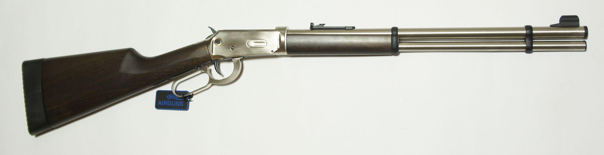 CO2 Winchester, Walther Lever Action, steel finish von der rechten Seite