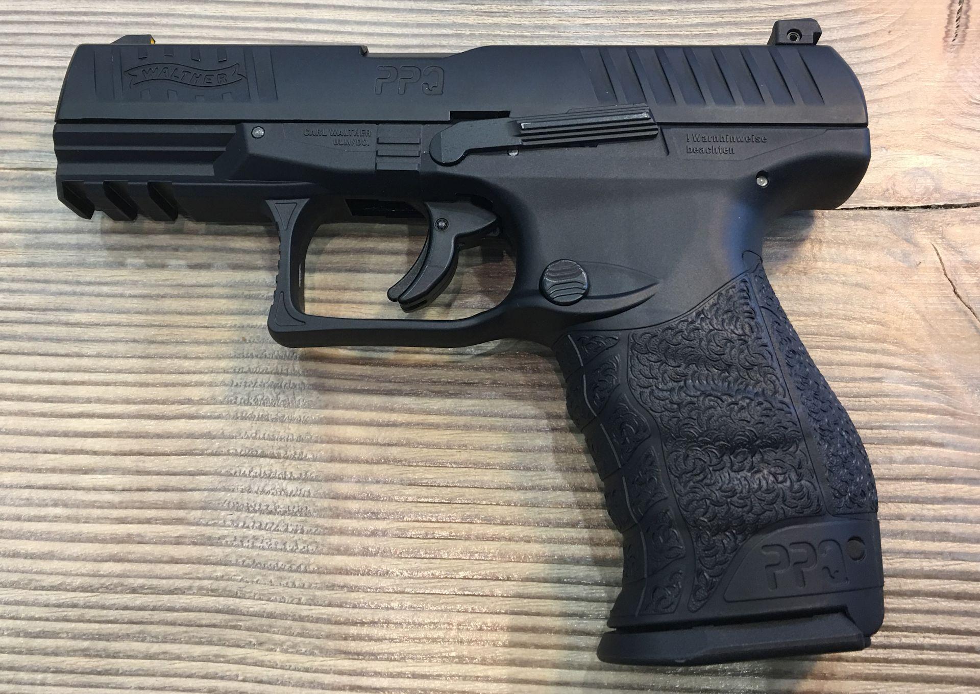 Walther PPQ M2 T4E, schwarz, Kaliber .43 / 11 mm