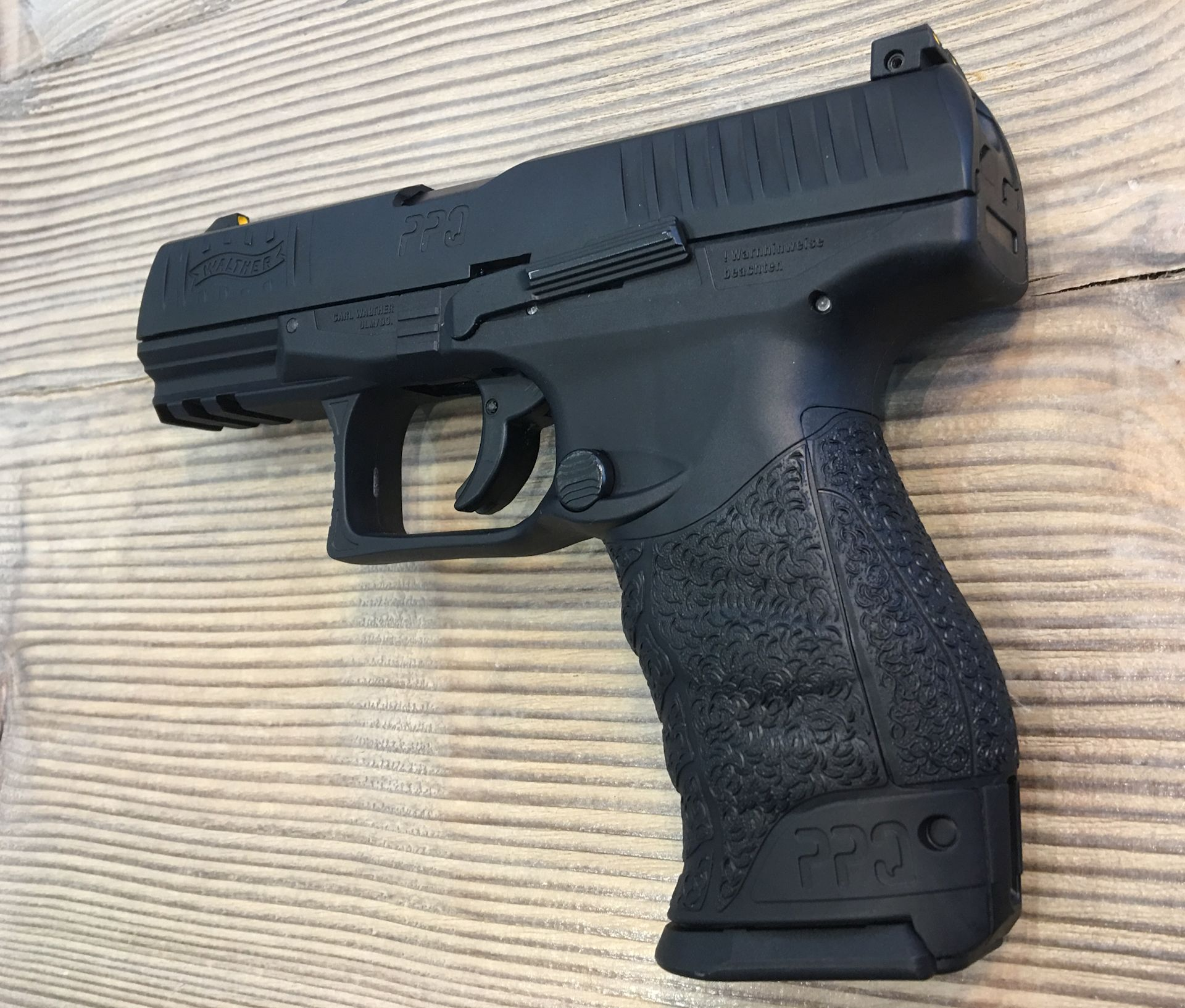 Walther PPQ M2 T4E, Kaliber .43 / 11 mm