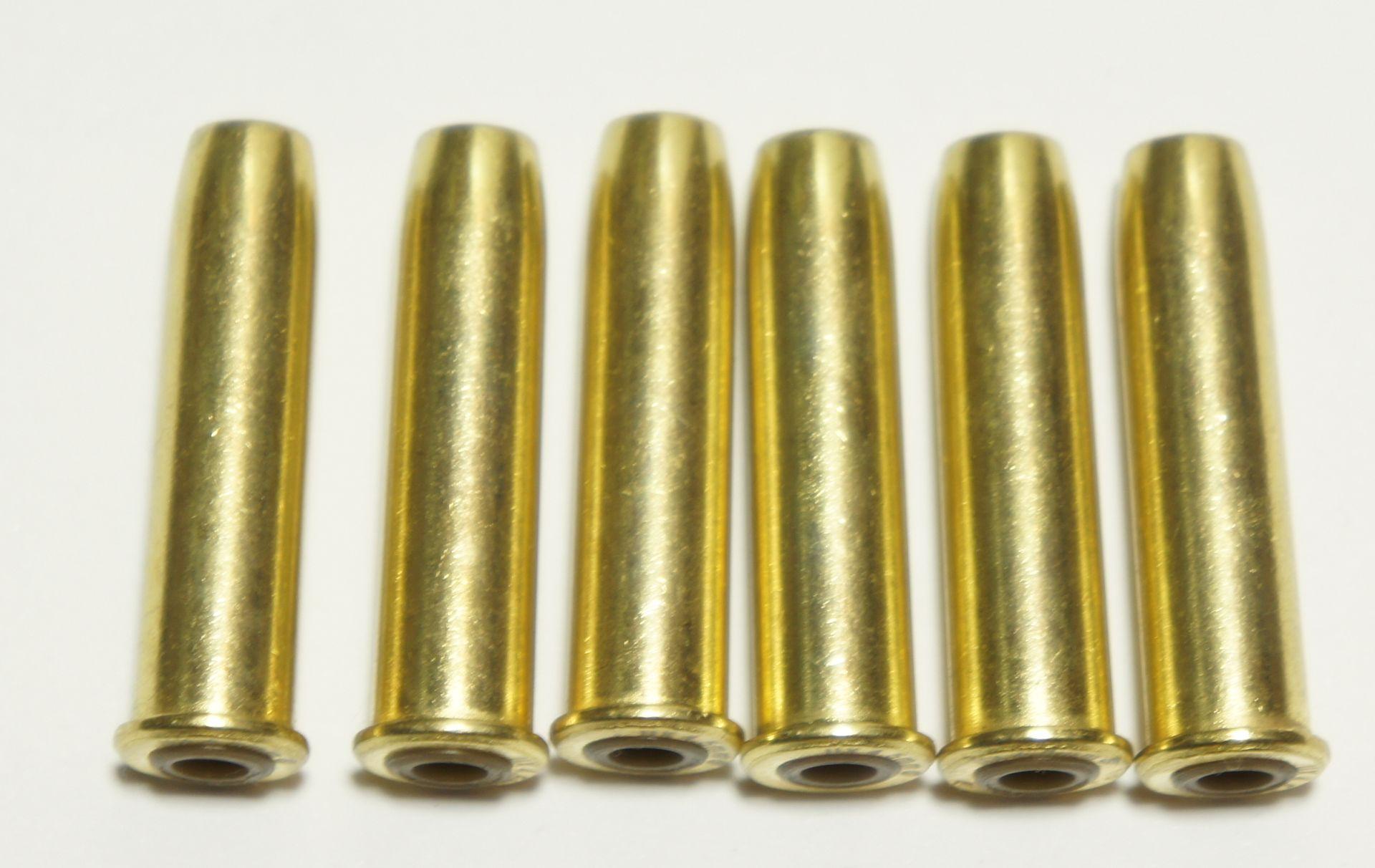 Ladehülsen für Colt SAA, 6er Pack