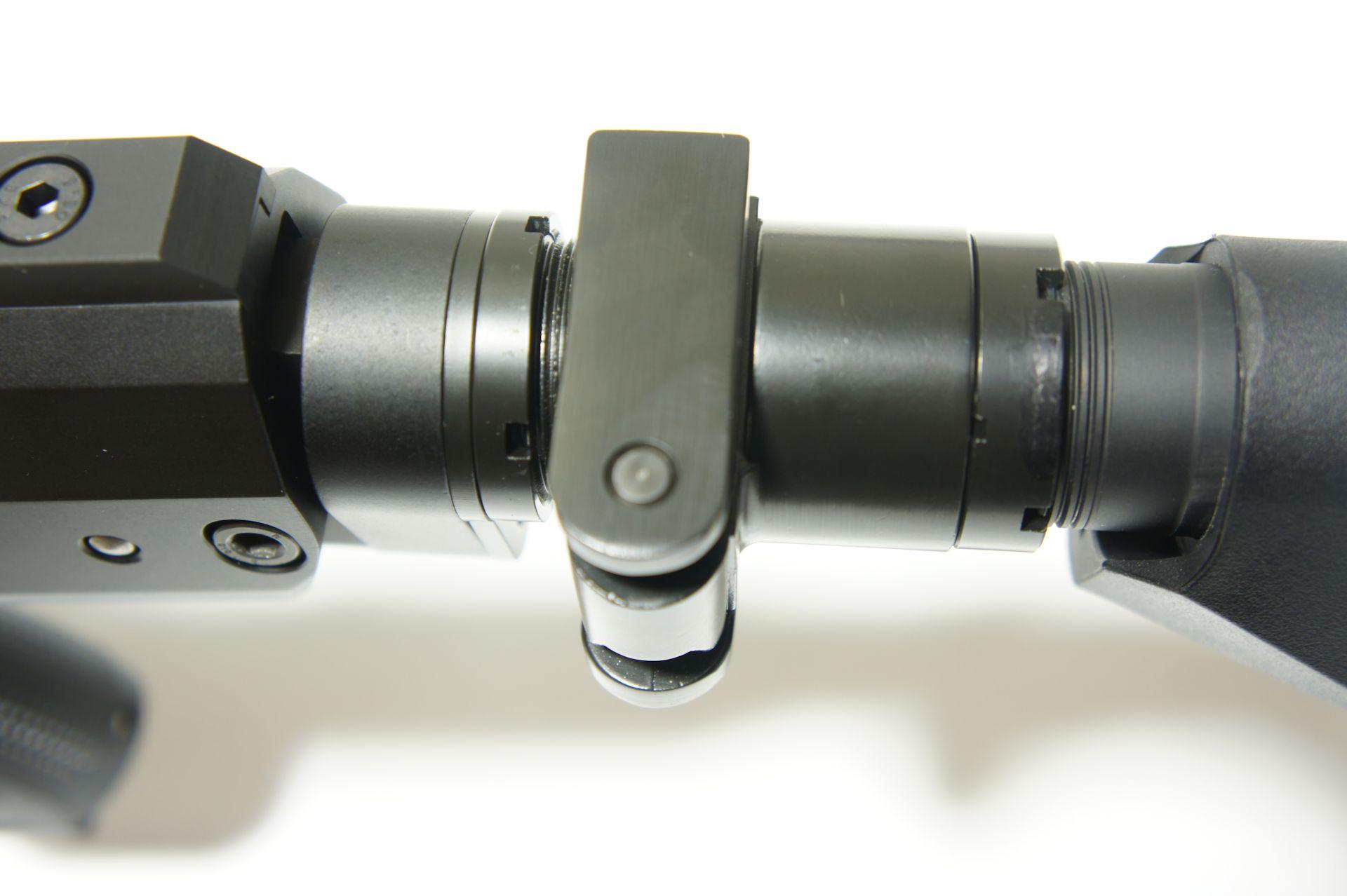 Montagebeispiel Klappschaft-Adapter  AR-15