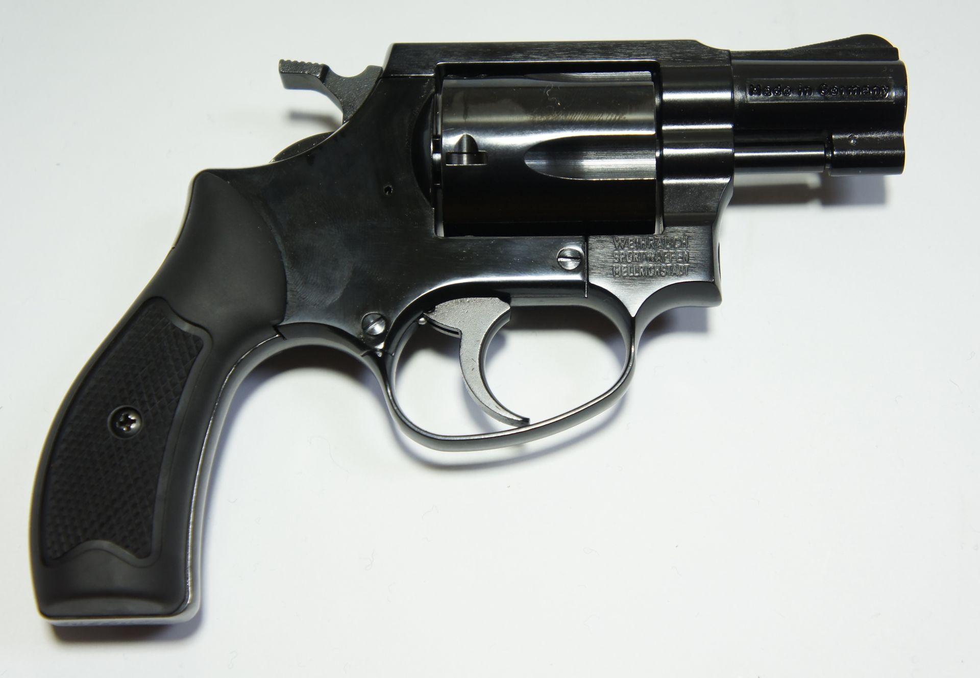 Selbstschutzrevolver HW 37 Kal. 9 mm RK