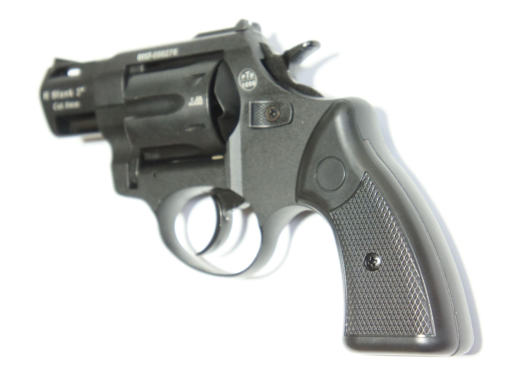 Zoraki R2 Gas und Signal Revolver mit schwarzem Griff