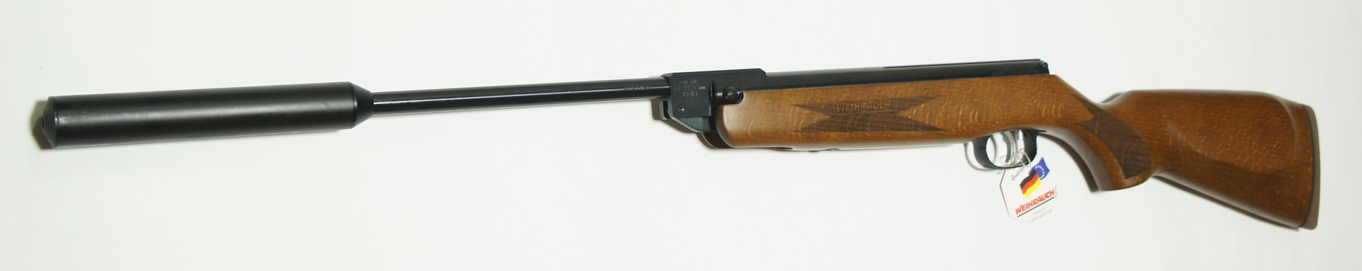 Luftgewehr HW 30s mit Luxusschaft und Schalldämpfer