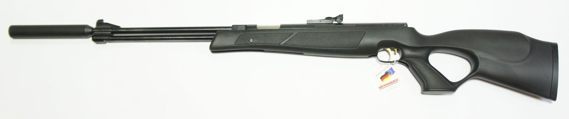 HW 77 K-sd black line, Kunststoffschaft, Kaliber 5,5mm, freie Ausführung mit 7,5J