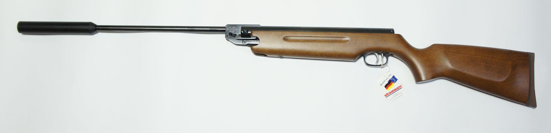 HW 35 mit Schalldämpfer /4,5mm F