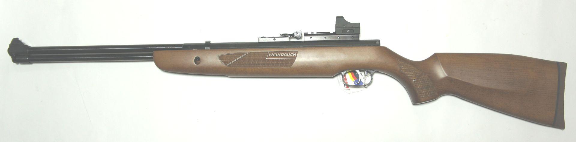 Montagebeispiel am <a href=1160407-45.htm>Luftgewehr HW 57</a>