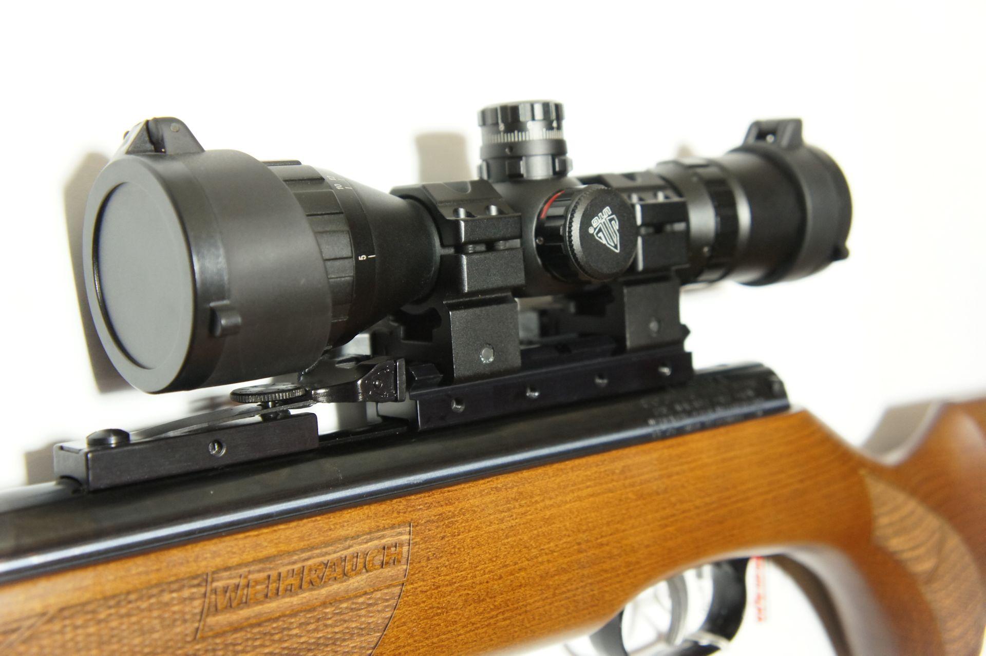 Luftgewehre Weihrauch HW 77 K sd im Kaliber 5,5mm