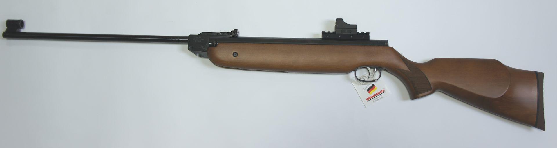 Dieser Schalldämpfer würde beispielsweise an ein<a href=116 409.htm>Luftgewehr HW 80 </a>passen
