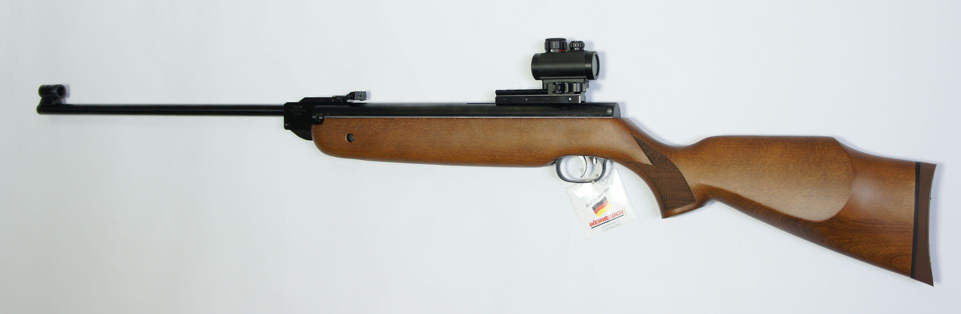 Noch ein Montagebeispiel am Luftgewehr HW 80