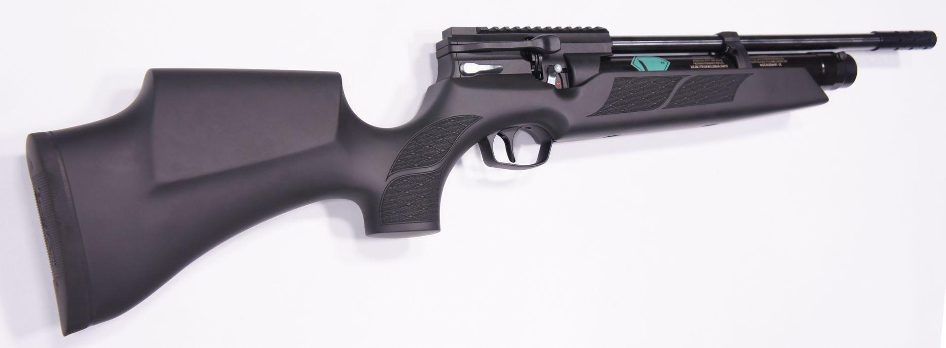 Erwerbsscheinpflichtiges Luftgewehr Weihrauch HW 110 ST mit Kompensator