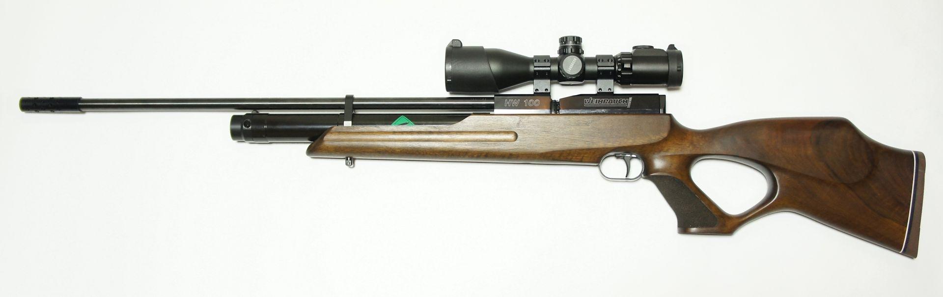 Weihrauch HW100 T FAC 5,5mm hunter mit ZF UTG 3-12x44