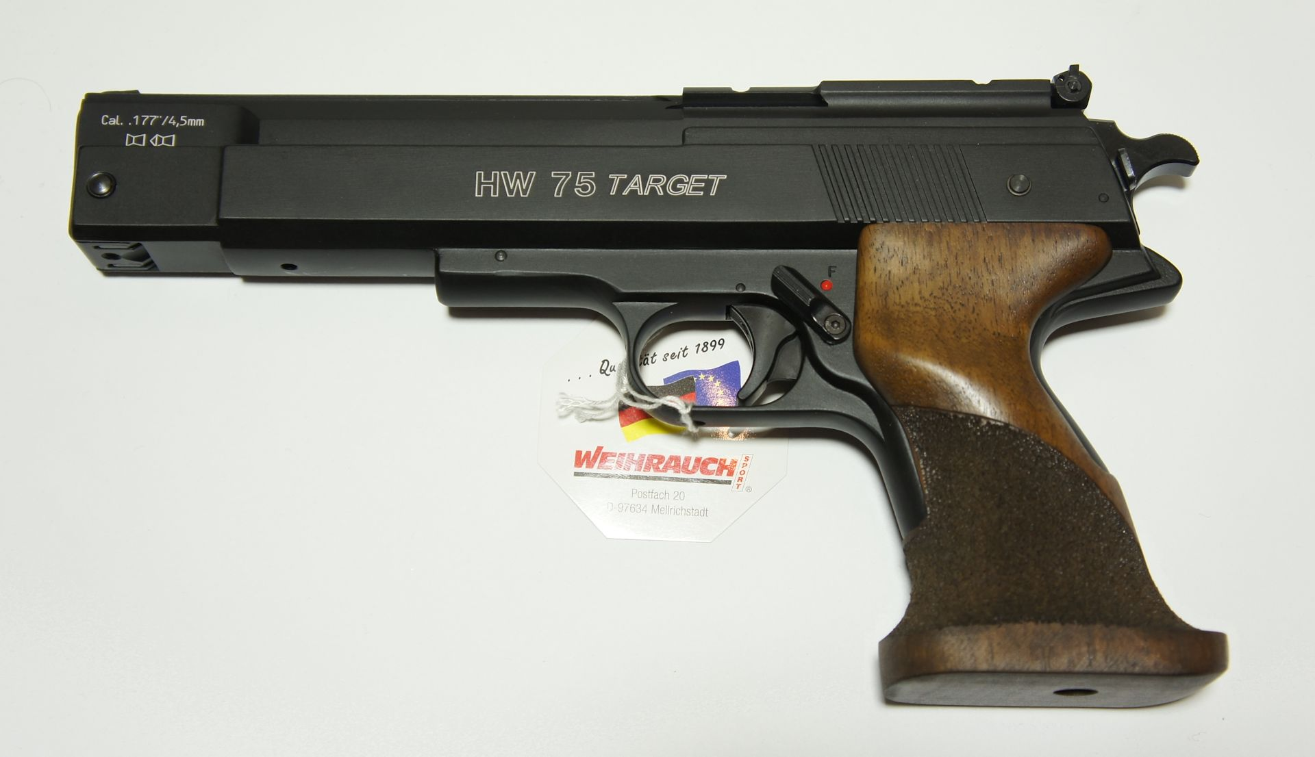 HW 75 Target Kaliber 4,5mm