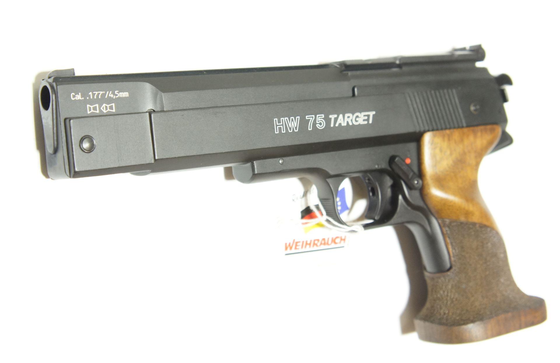 HW 75 im Kaliber im 4,5mm.