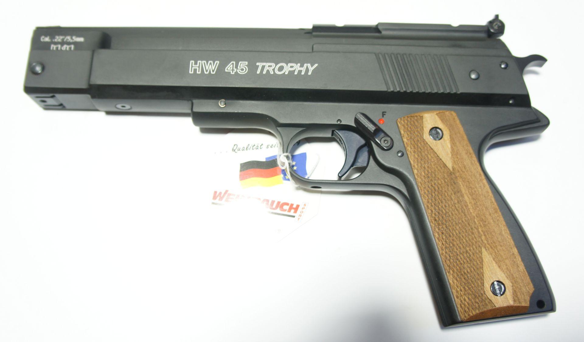 Luftpistole HW 45 Trophy Kaliber 4,5mm