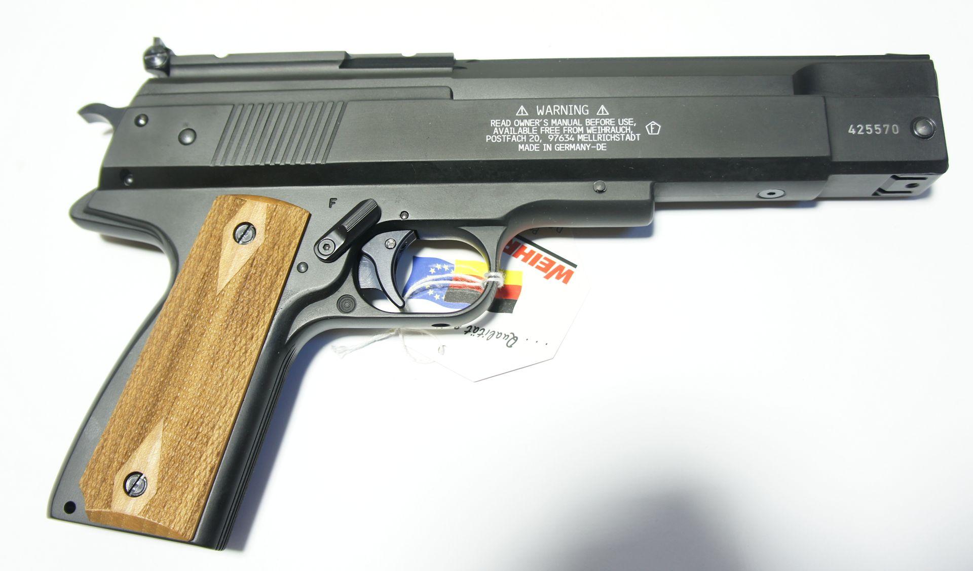 Bitte lesen Sie hierzu auch meine Hinweise zur Luftpistole HW 45  (unter dem Reiter Hinweise).