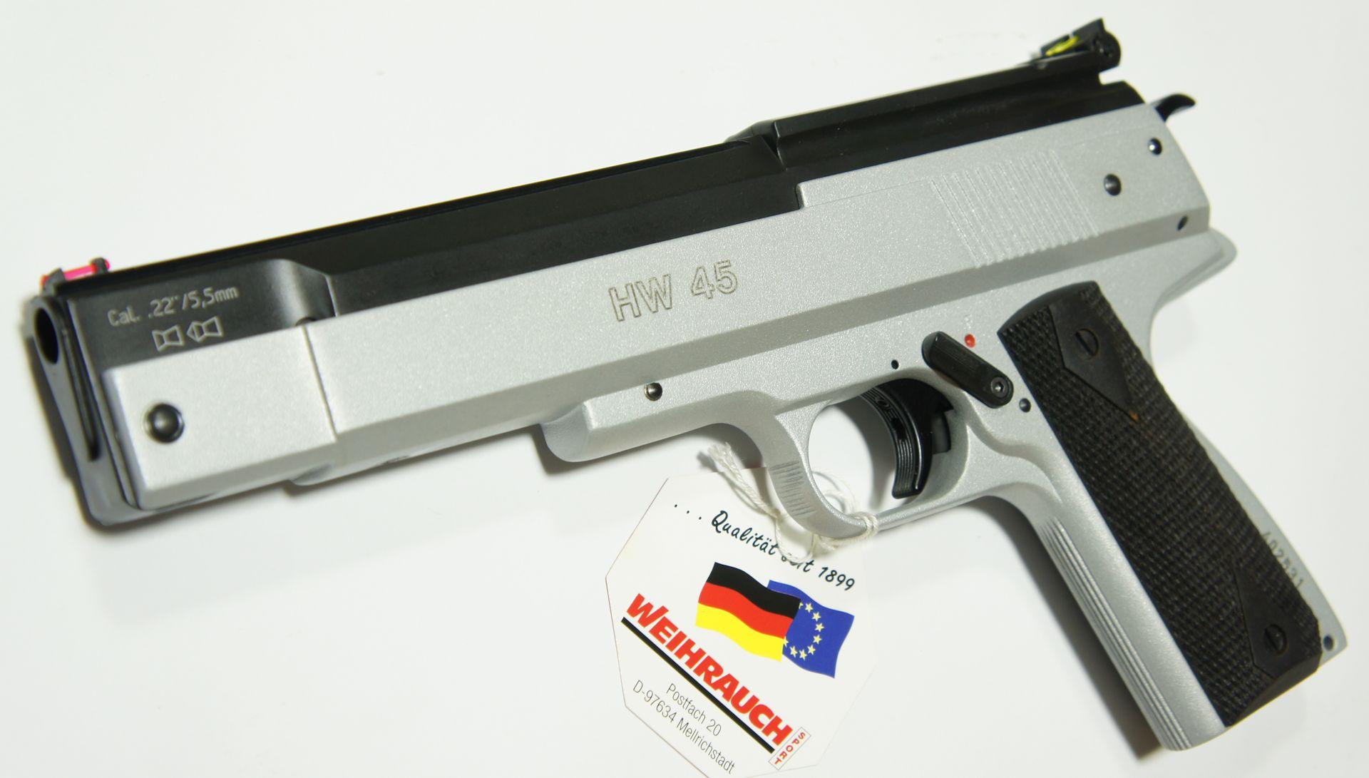 Die Luftpistole HW 45