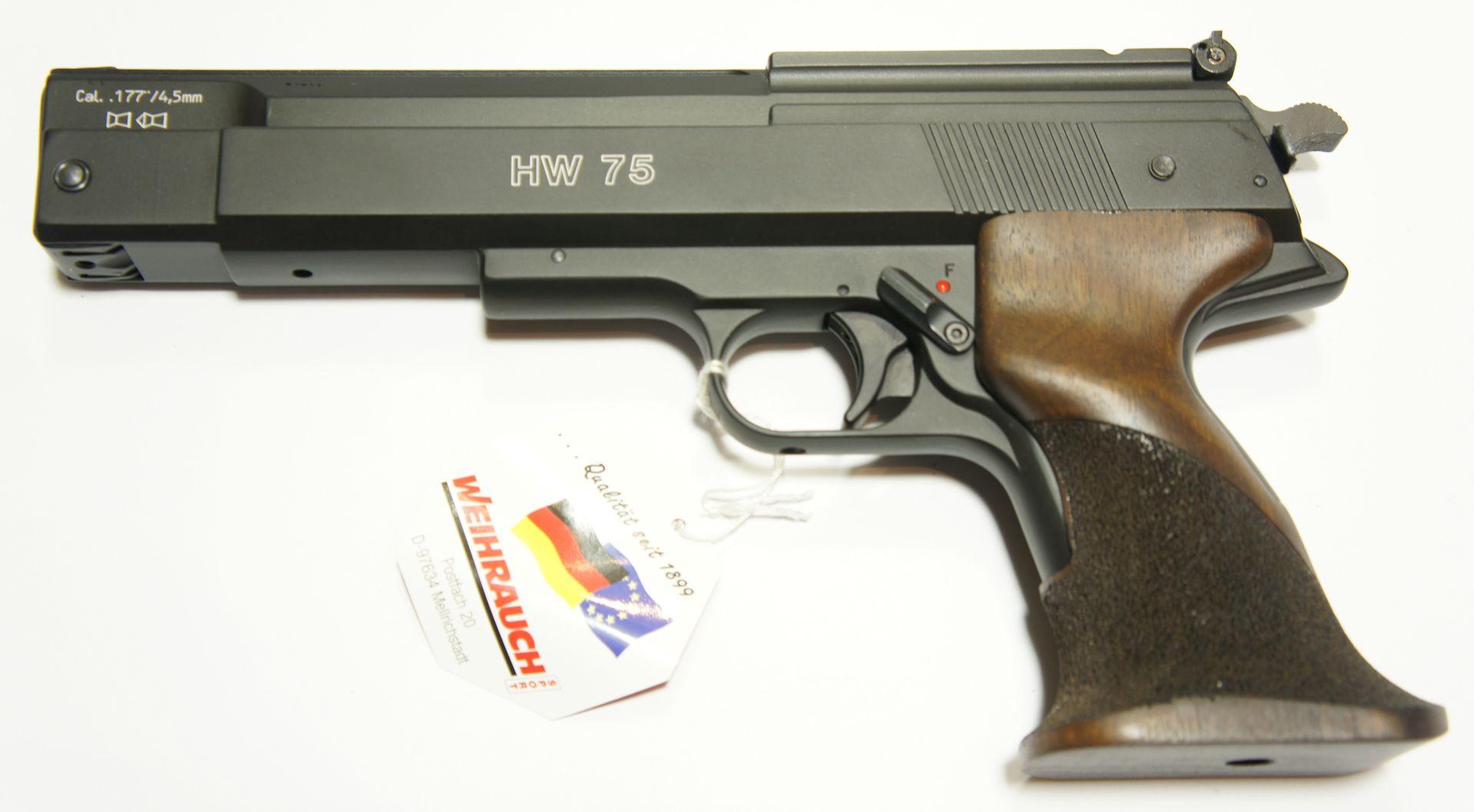 Luftpistole HW 75 von Weihrauch
