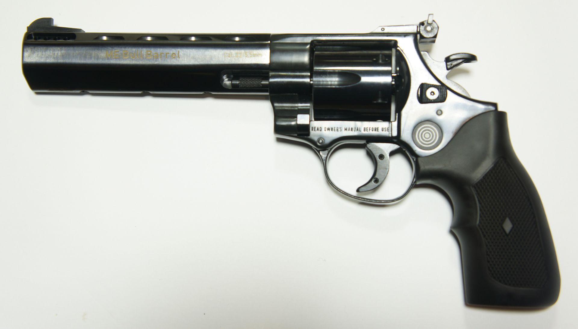ME Bull Barrel Target 5,5mm mit neutralem Kunststoffgriff