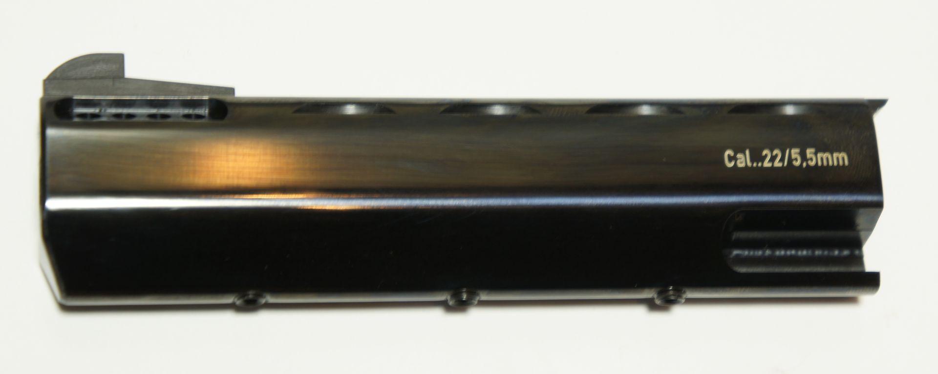 6 Laufmantel Target / passend z.B.  für Revolver ME Bull Barrel / Gewicht ca. 213g