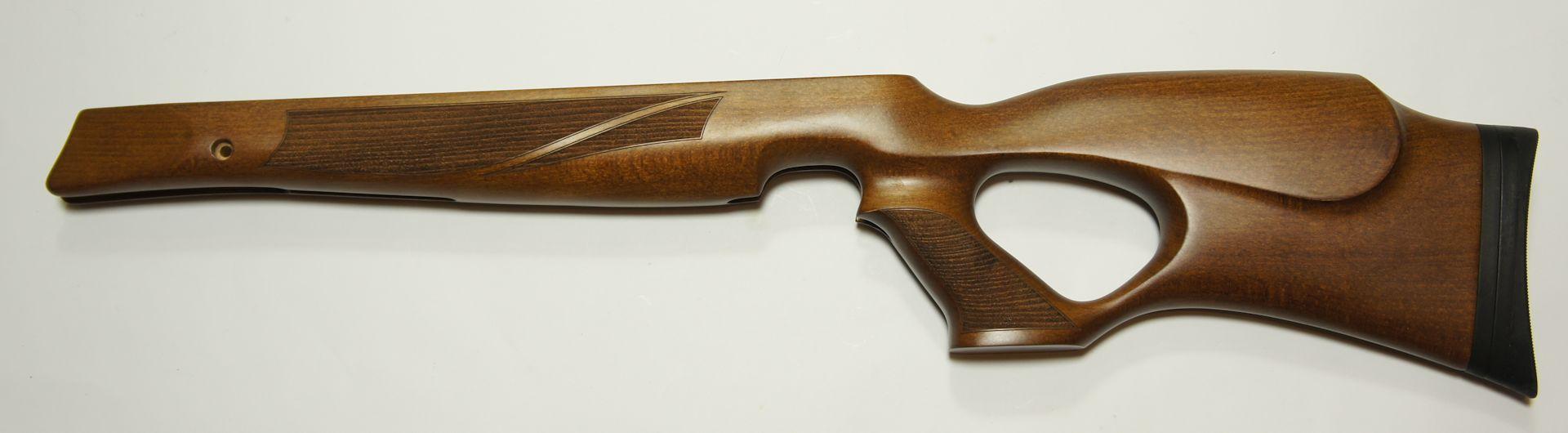 Lochschaft aus Holz mit verstellbarer Schaftkappe für Weihrauch HW 77 und HW 97