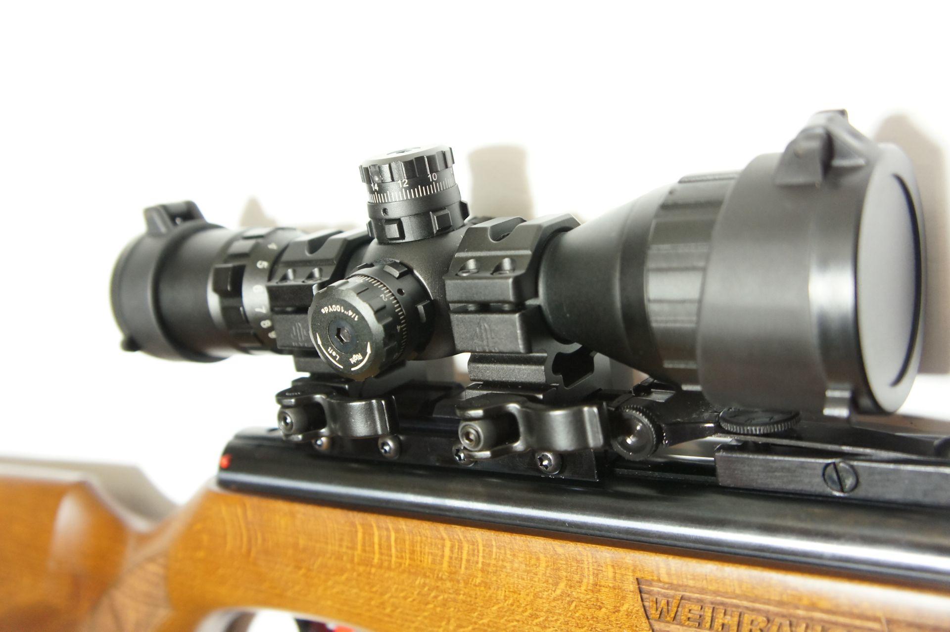 Utg compact 3 9x32 mit montagefüßen 21mm