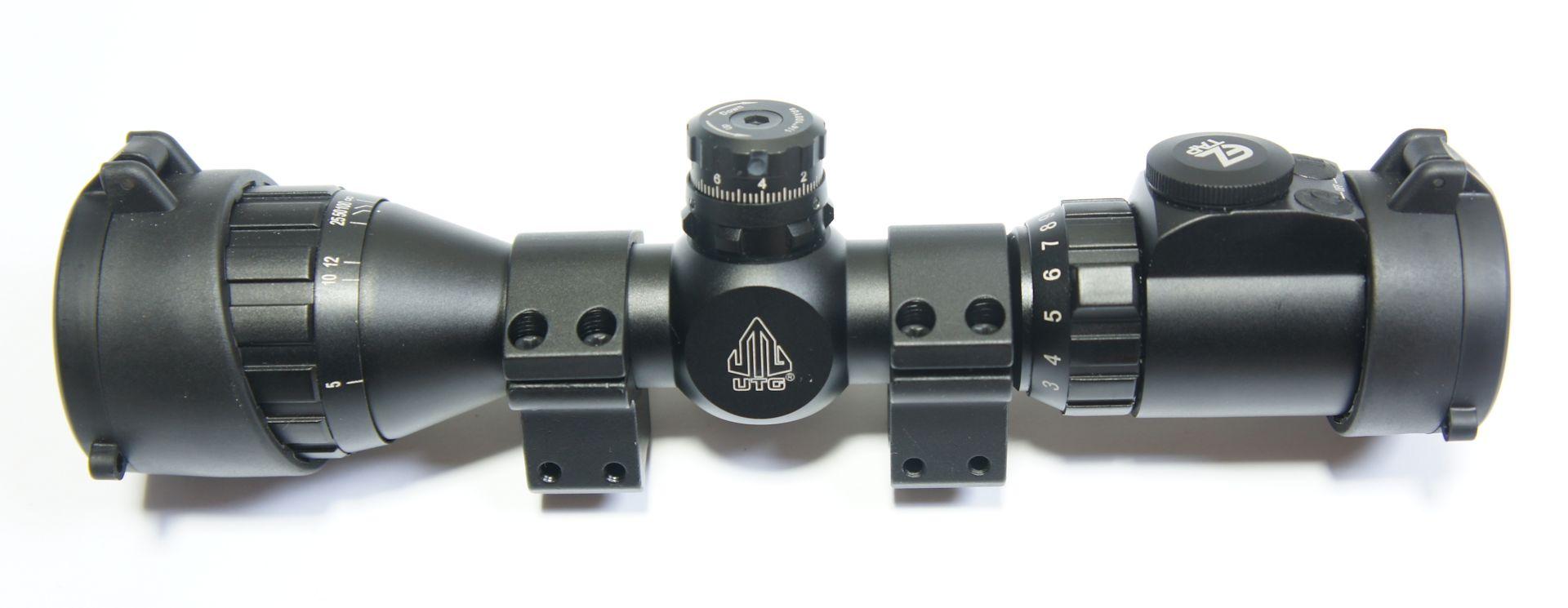 UTG compact 3-9x32 mit Montagefüßen 11mm