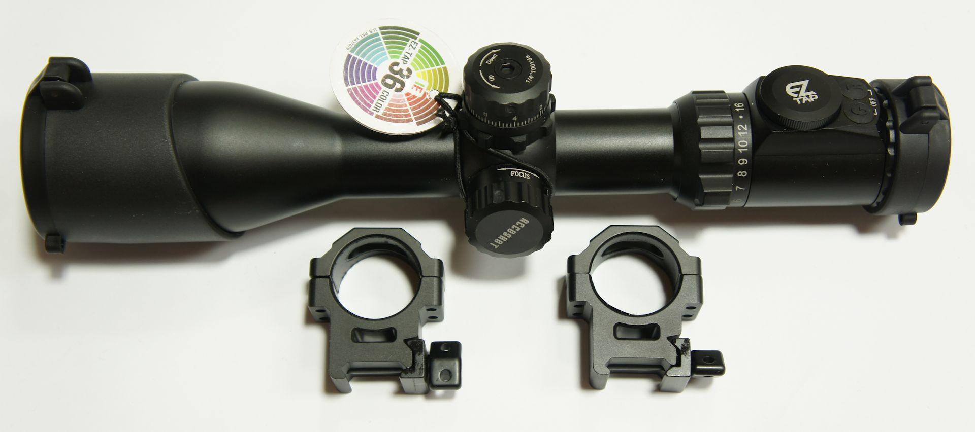 UTG compact 4-16x44 mit Montagefüßen