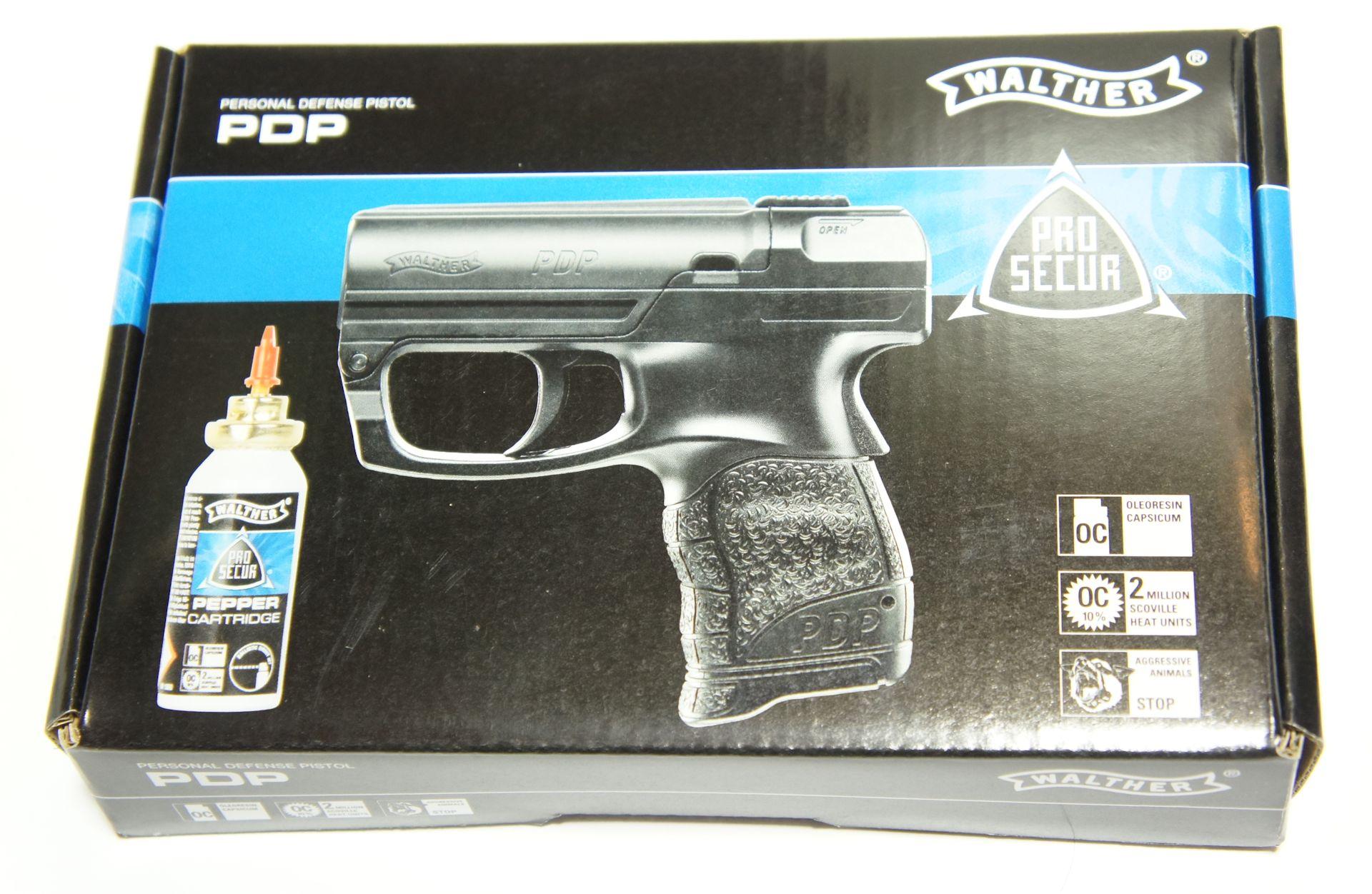 Das Walther PDP wird in ansprechender Verpackung geliefert