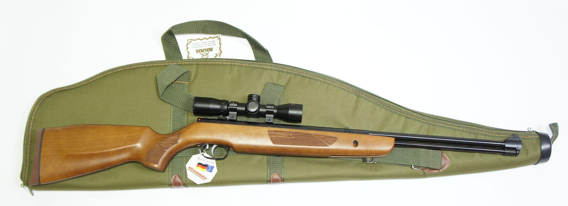 Anwendungsbeispiel mit Luftgewehr <a href=1160407-45.htm>Weihrauch HW 57 </a>