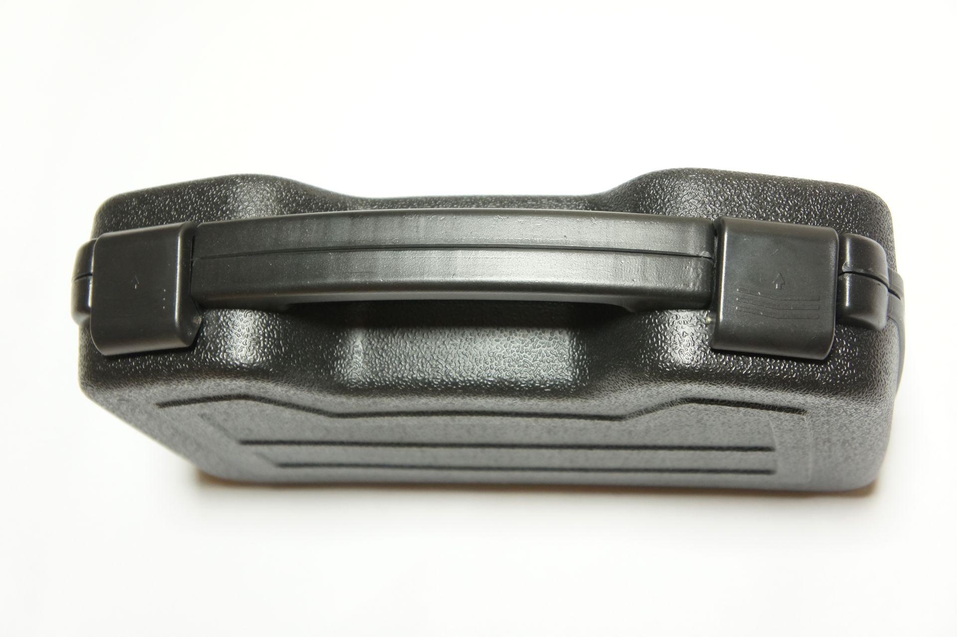 stabiler Koffer für Kurzwaffen, schwarz