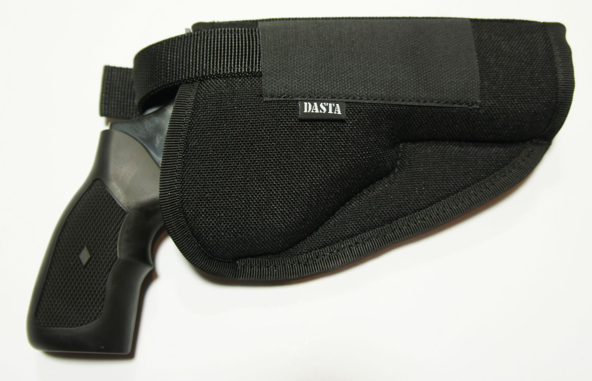 Kombinationsbeispiel mit <a href=1260146.htm>passendem Gürtelholster Nr. 1260146 </a>. Wenn Sie für Ihren revolver ein Holster aus Leder bevorzugen, kann ich Ihnen gerne <a href=1260109.htm>ein passendes Lederholster</a> anbieten