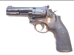 CO2 Revolver S&W 585 mit 4 Zoll- Lauf
