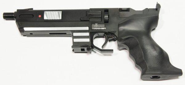 co2 pistole twinmaster trainer combat mit schalld mpfer. Black Bedroom Furniture Sets. Home Design Ideas