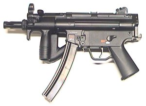 Heckler & Koch MP5 K-PDW Kaliber 4,5 mm Stahl BB CO 2 Blowback