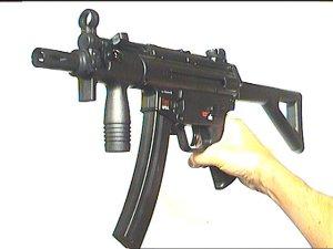 MP-5 K-PWD CO2- Pistole