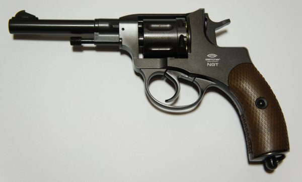 CO2 Revolver Gletcher NGT F Kaliber 4,5mm BB