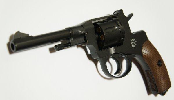 CO2 Revolver NGT F, Nagant- Nachbau der Marke Gletcher