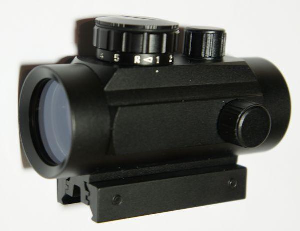 Leuchtpunktvisier Targetfinder passend für 21mm und auch 11mm Montageschienen