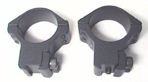 30mm Montageringe mit Stift für 11mm Schiene, H24