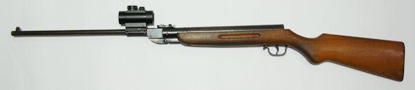 Montagemöglichkeit für <a href=../1130218.htm>Leuchtpunktvisier</a> am Luftgewehre Haenel Modell 3