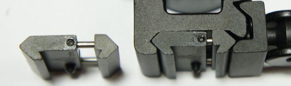 Achtung. Zur Montage dieser Optik auf Luftgewehren mit 11mm Schienenbreite ist wegen dem 21mm Montagefuß beispielsweise so ein kleiner <a href=1130668.htm>Adapter als Zubehör</a> nötig. Damit funktioniert auch der Schnellspannmechanismus.