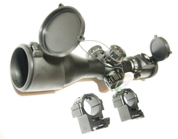 UTG compact 3-12x44 mit Montagefüßen 21mm