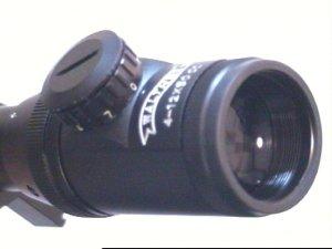 Zielfernrohr von Walther 4-12x50 mit Montageringen