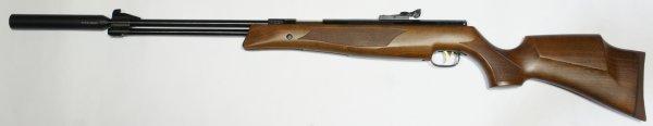 Luftgewehr Weihrauch HW 77 K sd 4,5mm mit Schalldämpfer