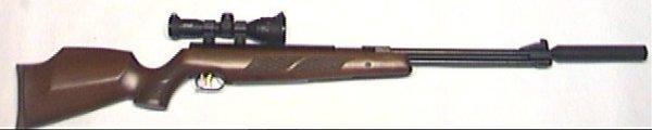 Linksschaft HW 97 aus Holz auch für Weihrauch HW 77