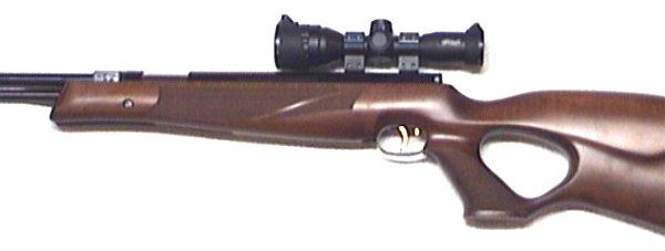Montagebeispiel mit Zielfernrohr Walther 4x32 MDS
