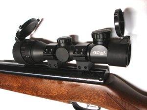 Luftgewehr hw 77 k sport mit zielfernrohr utg 3 12x44