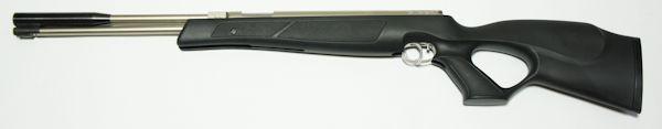 vernickeltes Weihrauch HW 97 black line Luftgewehr